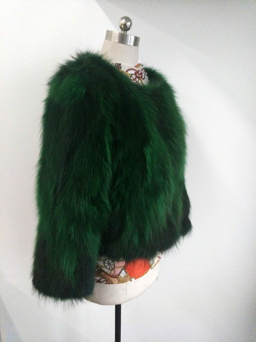 2019 New Fashion Real Raccoon Fur Jacket Women Natural True Fur Coat Factory Outlet Wholesale Fur Waistcoat DSR18