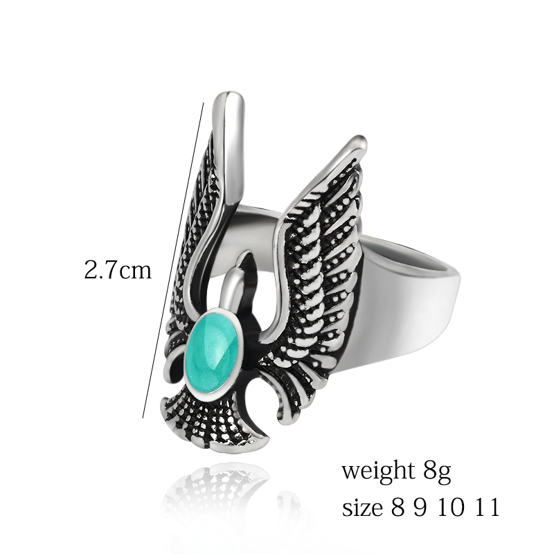 eagle wings rings