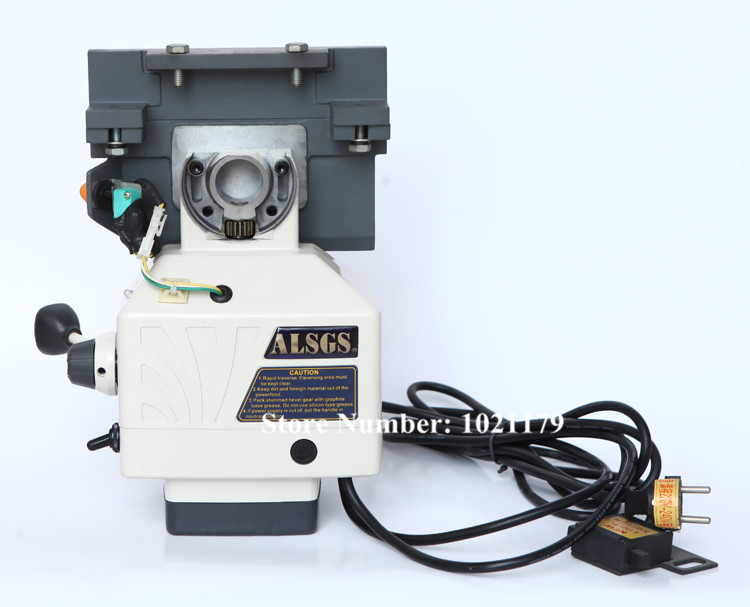 Free Shipping ALSGS ALB-310SX 110V / 220V 50/60HZ Milling Machine Horizontal Power Feed 450 in-lb Horizontal Auto Power Feeder