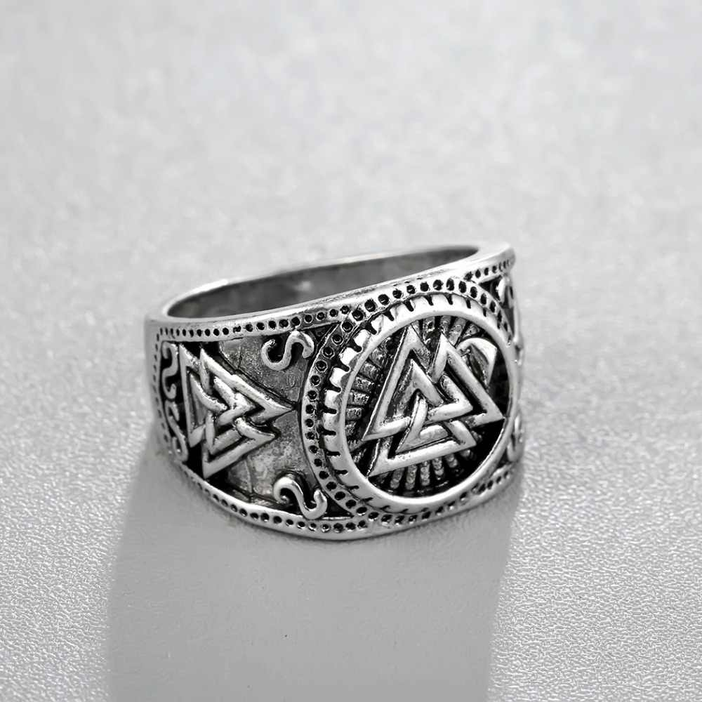 Cxwind סלאבית גברים של טבעות Kolovrat פגאני תכשיטי רונה חותם קמע טבעת הנורדית ויקינג תכשיטי גברים פאנק רטרו Bijoux sygnet