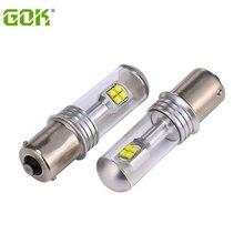 цена на 10x 1156 1157 LED CREE LED Chips 40w 1500lm P21W BA15S 1156 Led Bulb Turn Signal Brake Reverse Light Parking Bulbs led headlight