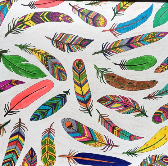 2015 Korean Enchanted Forest Inky Coloring Book Children Adult Relieve Stress Graffiti Painting Drawing Gift
