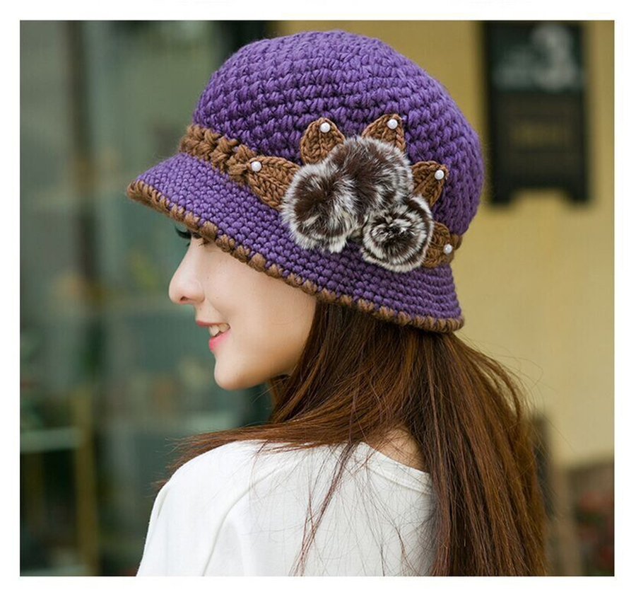 Winter Women Knitted Hats