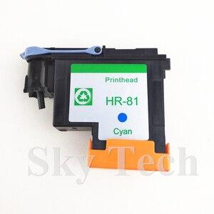 Image 4 - חתיכה אחת ציאן הדפסה ממוחזרות ראש עבור HP81 C, עבור Hp DesignJet 5000 5500 מדפסת.