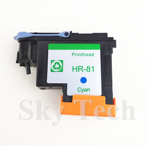 Image 4 - One Piece Cyan Remanufactured Print Head  For HP81 C ,  For Hp DesignJet 5000 5500 printer .