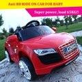 Поставка новый электрический автомобиль моделирования для Auti R8 четырех детей, могут получить удаленный контроль автомобилей амортизаторы