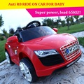 Fornecimento de novo veículo elétrico simulação para Auti R8 quatro crianças podem assumir o controle remoto absorvedores de choque de carro