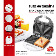 Free shipping.SANDWICH MAKER.750W.Non-Stick Cooking Surface.Sandwich Toaster