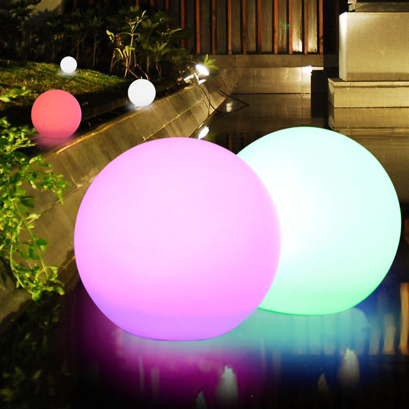 11.8 Solar Waterproof Ball Light 10 Color RGB Switch Control mood Float Light Lamp Floating Globe Lights Outdoor pool PARTY 30cm color changing remote control party pool magic waterproof rgb night lighting lamp globe