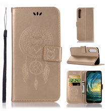 For Cover Huawei P20 Pro Case Dreamcatcher PU Leather Flip Wallet for Phone