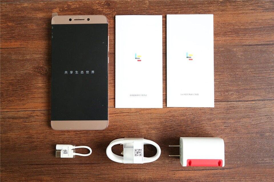 US $287 99  Original LeEco Le Max 2 Letv X820 6G RAM 64G ROM Android 6 0  FDD LTE Mobile Phone Snapdragon 820 Dual SIM 5 7