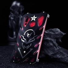 Funda de tornillo para Honor 10 lite funda potente a prueba de golpes para Honor 8x 8x max Zimon funda para Honor 8c heavy púrpura de servicio rígido limpio