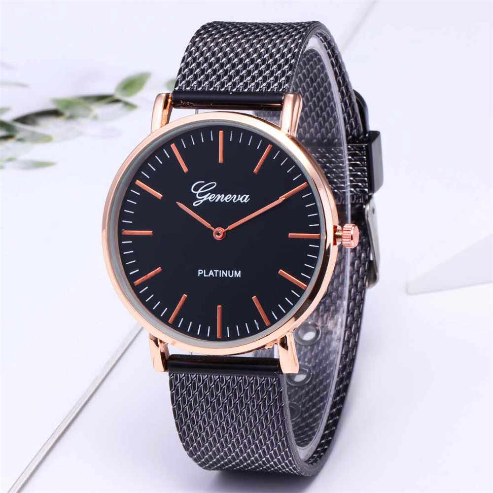 ae63e3874bd7 ... Relojes de mujer baian Kol Saati moda Rosa oro plata Lujo Señora reloj  para mujer marca ...
