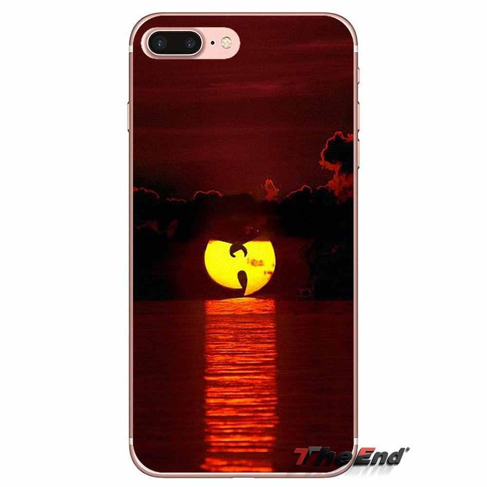 Wu Tang Clan в стиле «хип-хоп» Рэп Логотип для iPhone X 4 4S 5 5S 5C SE 6 6 S 7 8 плюс samsung Galaxy J1 J3 J5 J7 A3 A5 2016 2017 Чехлы для телефона