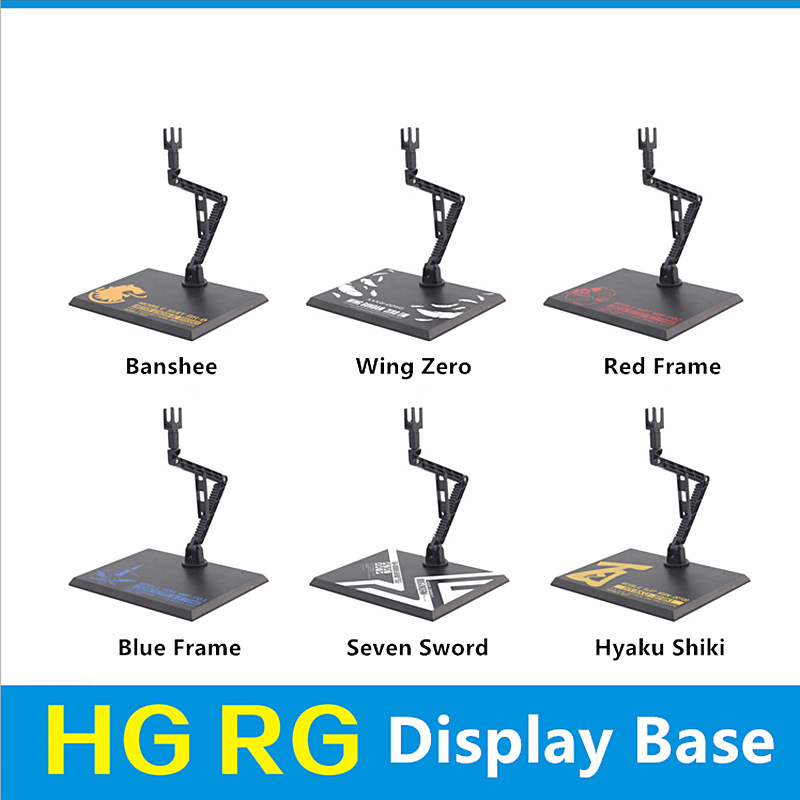 Common display Base stand for Bandai RG HG MG Unicorn Strike Freedom Wing Zero Sazabi Sinanju Red Frame Etc Gundam model D030*(China)