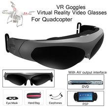 Feee envío! VR Gafas de Realidad Virtual Gafas 2D Para Quadcopter Con Interfaz AV Auricular