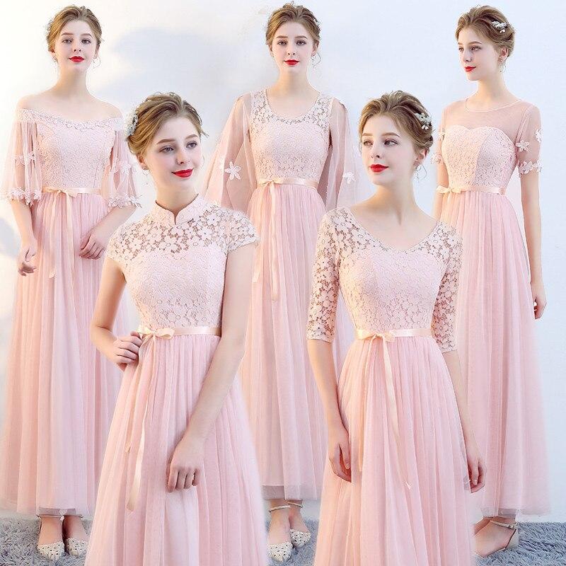 short black tea length dresses women modest bridesmaid fashionable ...