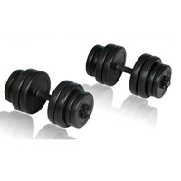 VidaXL Dumbbells 30kg Muscle Workouts Arms Exercises Safe Efficient Body Training Fitness Equipments Body Building