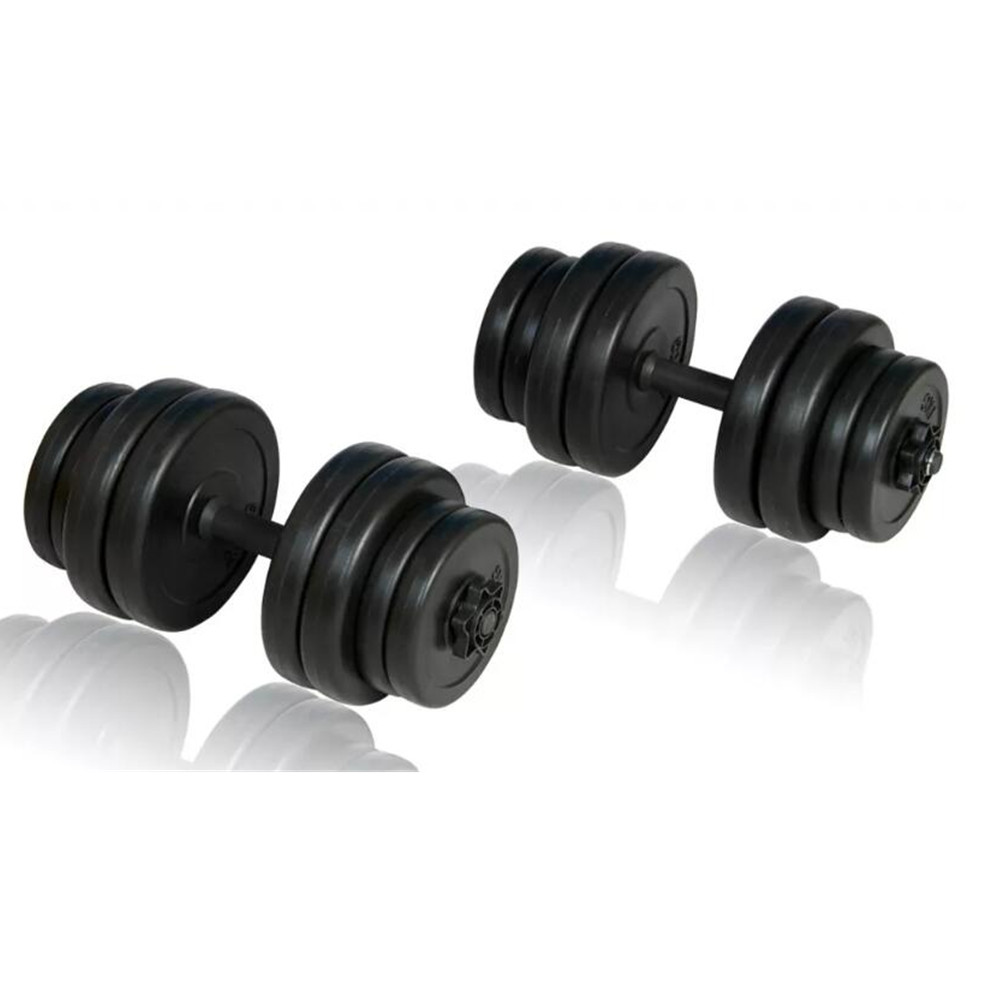 VidaXL Dumbbells 30kg Muscle Workouts Arms Exercises Safe Efficient Body Training Fitness Equipments Body Building image