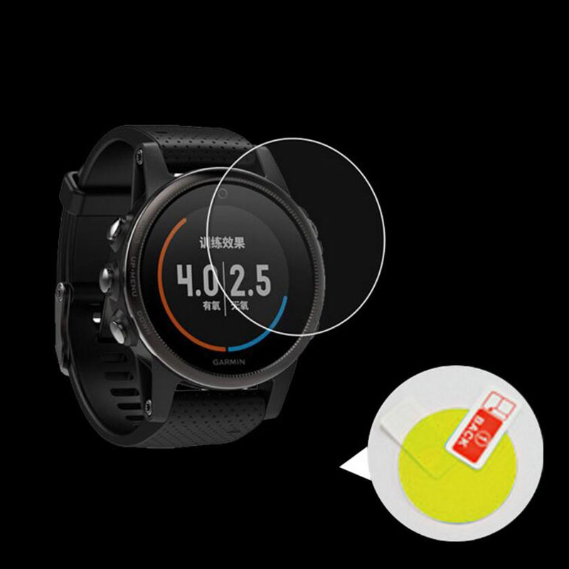 2pc Soft TPU (No Glass) Full Screen Protector Cover Clear Protective Film Guard For Garmin Fenix 5/5S/5X Fenix5 Plus Smart Watch
