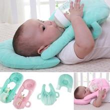 2019 multifuncional bebé Bebe lactancia recién nacido lavable Anti-spit leche almohada cojín alimentación infantil almohadas fijas