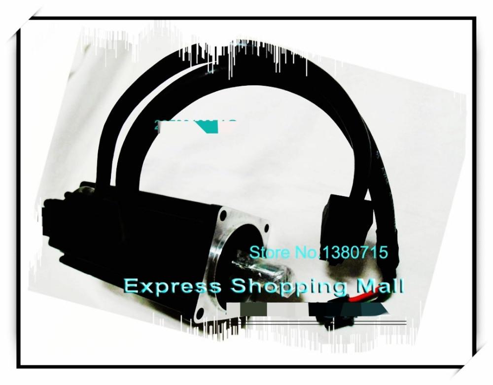 New Original ECMA-C10804R7 220V 400W 1.27NM 3000rpm AC Servo Motor with Oil Seal Shatf 14mm new original ecma c11010rs 220v 1kw 3 18nm 3000rpm ac servo motor with oil seal