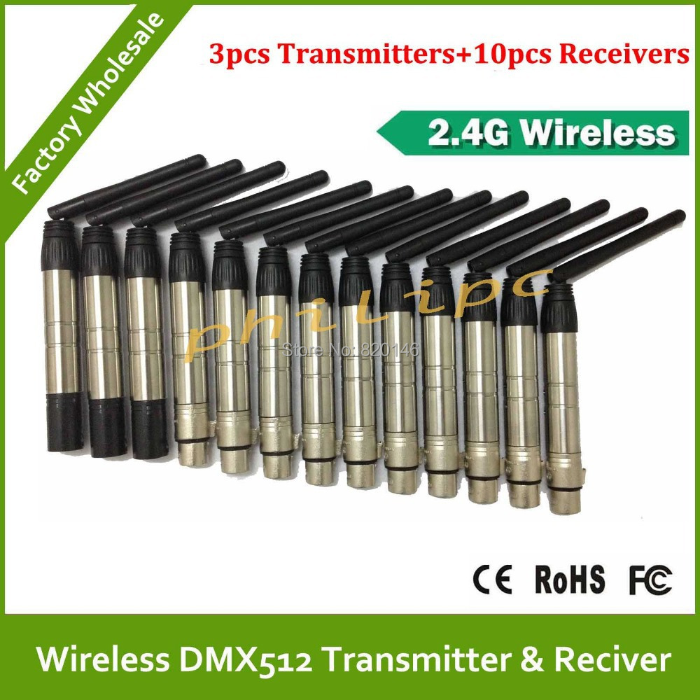 DHL/EMS Free Shipping 2.4Ghz Wireless DMX512 Console DFI DMX512 wireless Transmitter or Receiver DMX wireless kit used in good condition ms fec2611 0 with free shipping dhl ems