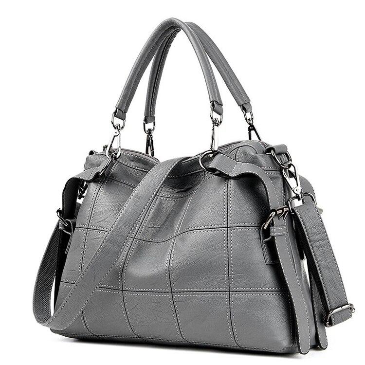 Fashion Women's handbag 2018 autumn and winter bags fashion big bag vintage all-match cross-body shoulder bag handbag A2