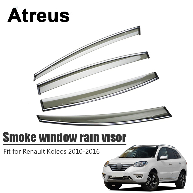 Atreus For Renault Koleos 2010 2011 2012 2013 2014 2015 2016 Car Accessories Smoke Window Sun