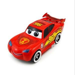 Image 2 - Cartoon cute red Car Piggy Bank Kids Toy Money Box Saving Deposit Boxes Electronic Enfant Children Cash Coin Safe car