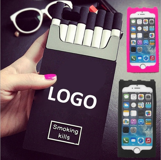 buy popular c33d0 d5bdd US $27.89 |Luxury Channel Smoking Kills Silicone Cover CC Brand Cigarret  Case For Iphone 6 6 Plus 4s 5c 5s Samsung S5 6 Note 3 Note 4 on ...