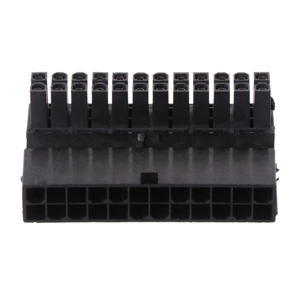 Новый конвертер адаптер ATX 24Pin Женский к 24pin мужской правый угол адаптер для настольных ПК питание Лидер продаж