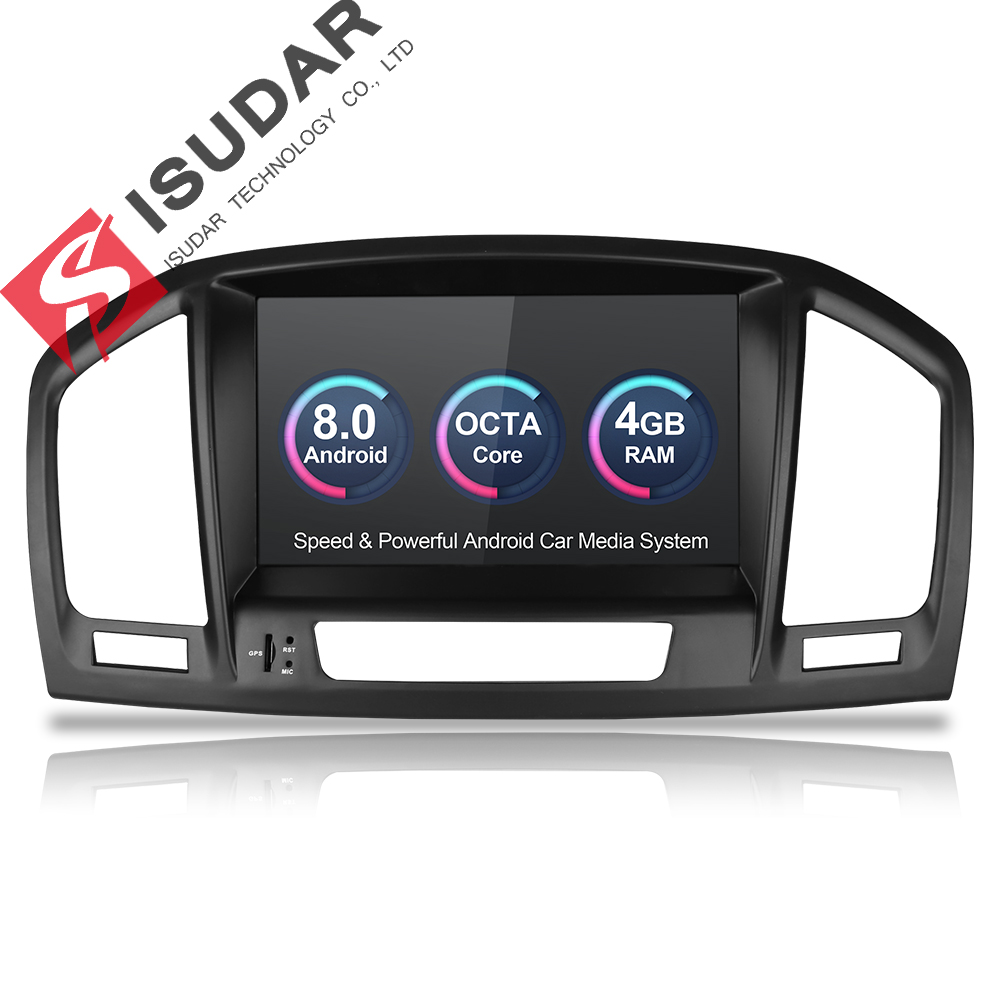Isudar Car Multimedia Player 2 Din Car Radio GPS Android 8.0 7 Inch For Opel/Vauxhall/Insignia CD300 CD400 2009-2012 Wifi OBD2  Isudar Car Multimedia Player 2 Din Car Radio GPS Android 8.0 7 Inch For Opel/Vauxhall/Insignia CD300 CD400 2009-2012 Wifi OBD2
