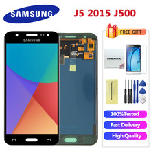 For Samsung GALAXY J5 J500 J500F J500FN J500M J500H 2015 LCD Display With Touch Screen Digitizer Assembly Can Adjust Brightness(China)