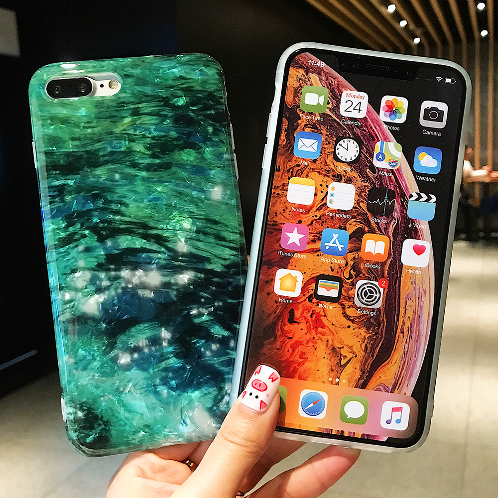 KIPX1120_5_JONSNOW Glitter Phone Case For iPhone X XR XS Max Cases Soft TPU Back Cover For iPhone 6S 6P 7 8 Plus Cover Case