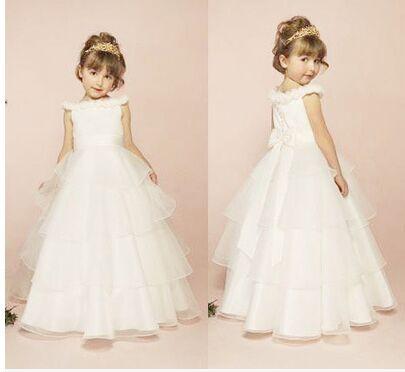 2015 children barbie princess dress white wedding dress for Wedding dress for big girls