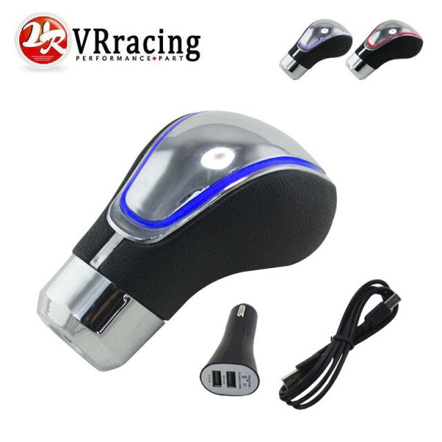 VRracing Store VR RACING - Universal Manual Touch Activated  LED Gear Shift Knob Gear Knob Shifter Gear VR-GSK17W
