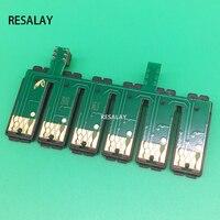 T0791-T0796 ARC CISS Combo Chip For Epson 1400 P50 PX700W PX800FW PX830FWD A1430 Artisan 1430 Inkjet Printer