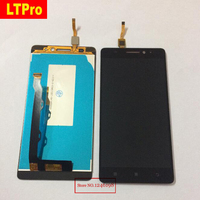 TOP Quality Black White LCD Display Touch Screen Digitizer Assembly For LENOVO K3 Note K50 T