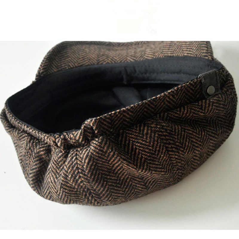 ... VORON Moda Tapa Octogonal Boina del vendedor de Periódicos Del Sombrero  Del Otoño Y Sombreros de ... 136da10d42b
