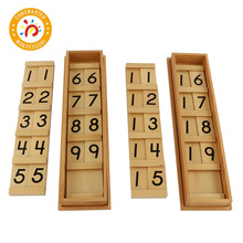 Baby Toy Montessori Material Math Seguin Board Teaching Aids Digital Exercises Early Education flyingtown montessori teaching aids balance scale baby balance game early education wooden puzzle children toys