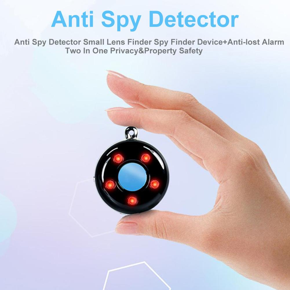 Anti  Detector Small Lens Finder Finder Device+Anti-lost Alarm Two In One Privacy&Property Safety