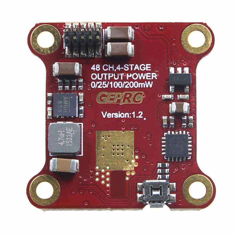 Geprc 20x20mm estable Flytower F4 controlador de vuelo y 12A BL_S CES y 48CH 25/100/ 200 mW VTX