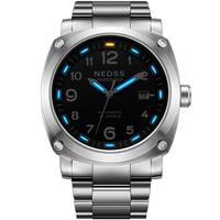 NEDSS brand luxury tritium watch swiss H3 self luminous aviation chronometer watch Miyota NH35 automatic watch