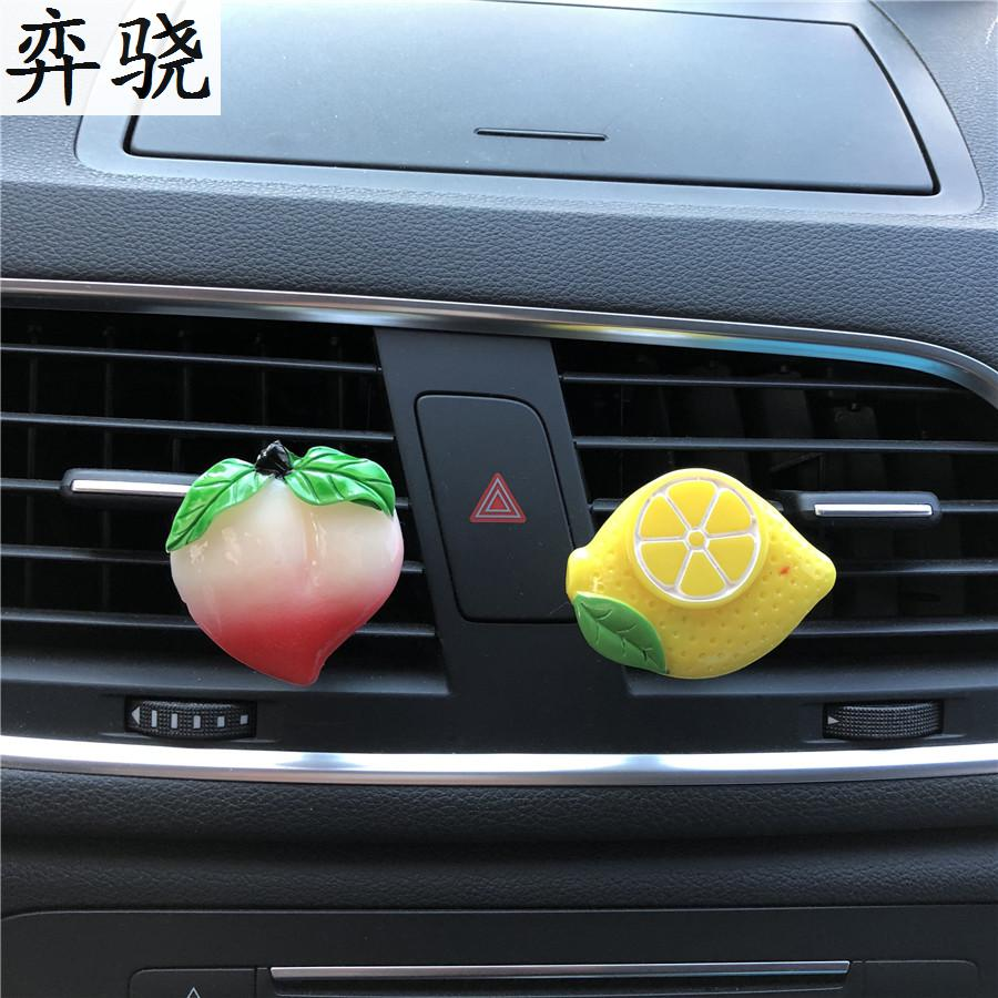 Plastic fruit Automobile styling decoration Perfume Lemons and grapes car air conditioner Exquisite freshener