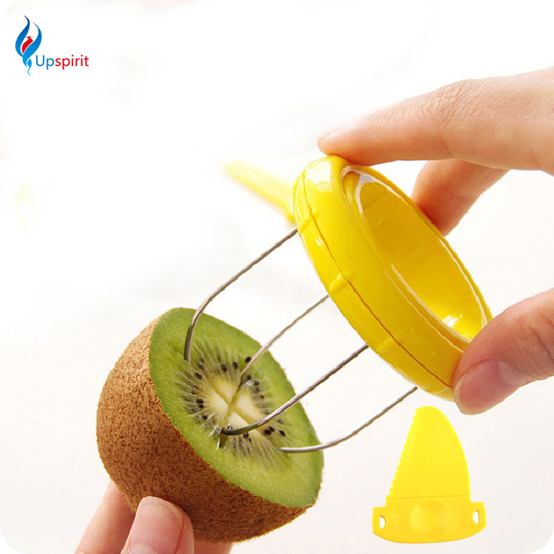 Hot Sale Cooking Tools Kitchen Fruit Kiwi Cutter Device Cut <font><b>Digging</b></font> Core Twister Slicer Kitchen Peeler To Kitchen Accessories