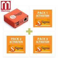 Martview Sigma Box with 9pcs Cable Set + Sigma Pack 1, 2, 3 Activations