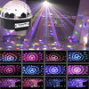 9 Colors 27W Crystal Magic Ball LED Stage Lamp 21Modes Disco KTV Party Laser Light US