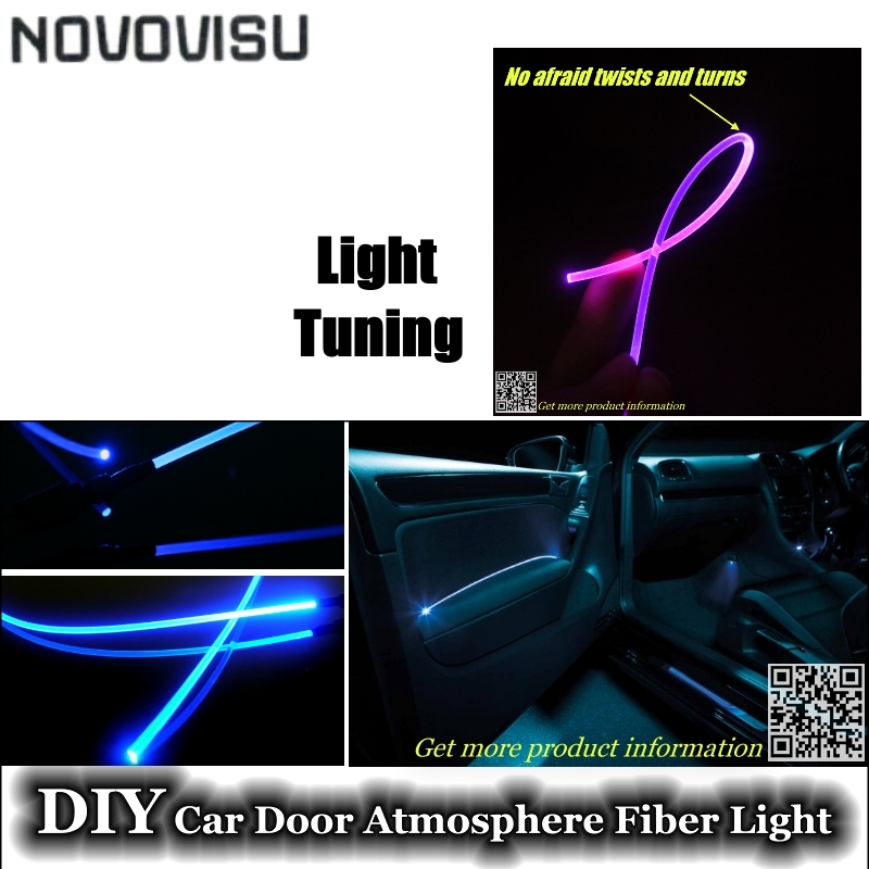 novovisu for all car interior light tuning atmosphere fiber optic band ambient light inside. Black Bedroom Furniture Sets. Home Design Ideas