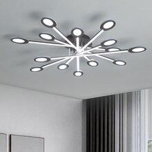 New design Brown/White Modern Led Ceiling Lights For Living Room Bedroom Plafon Inddor Ceiling Lamp Home Lighting Fixtures недорого